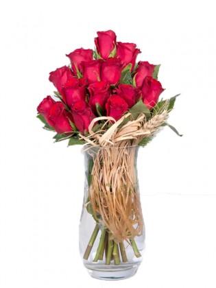 İn Love 15 Premium Kırmızı Gül