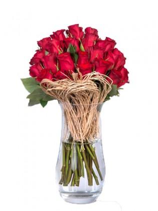 İn Love 25 Premium Kırmızı Gül
