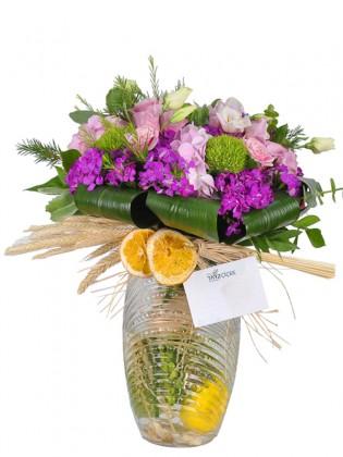 Mixed Vazoda Çiçek