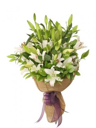 Wonderful Lilies Bouquet